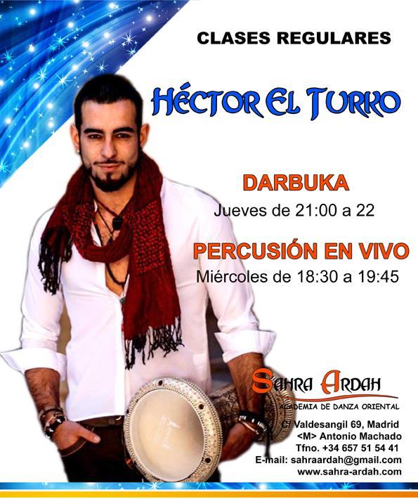 DARBUKA PROFESOR HÉCTOR EL TURKO