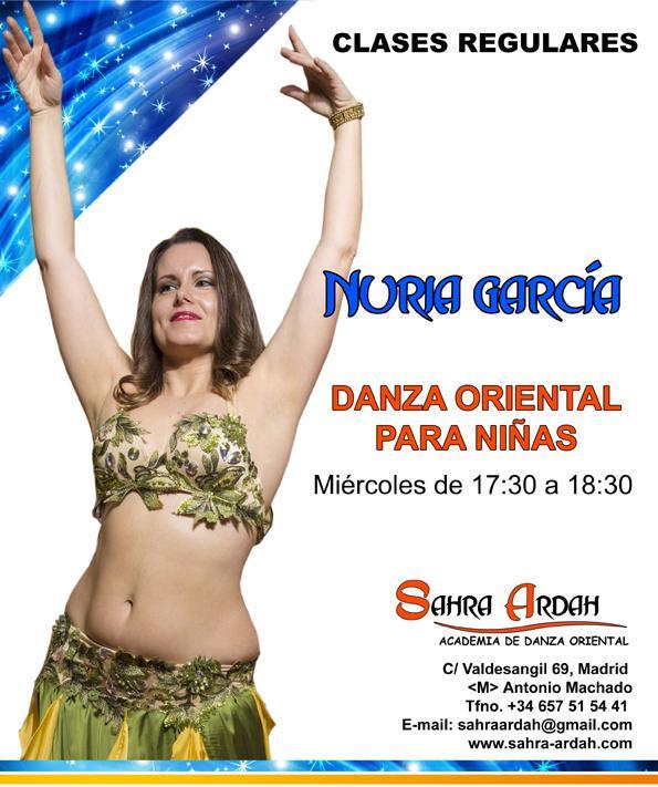 DANZA ORIENTAL NIÑAS PROFESORA NURIA GARCÍA