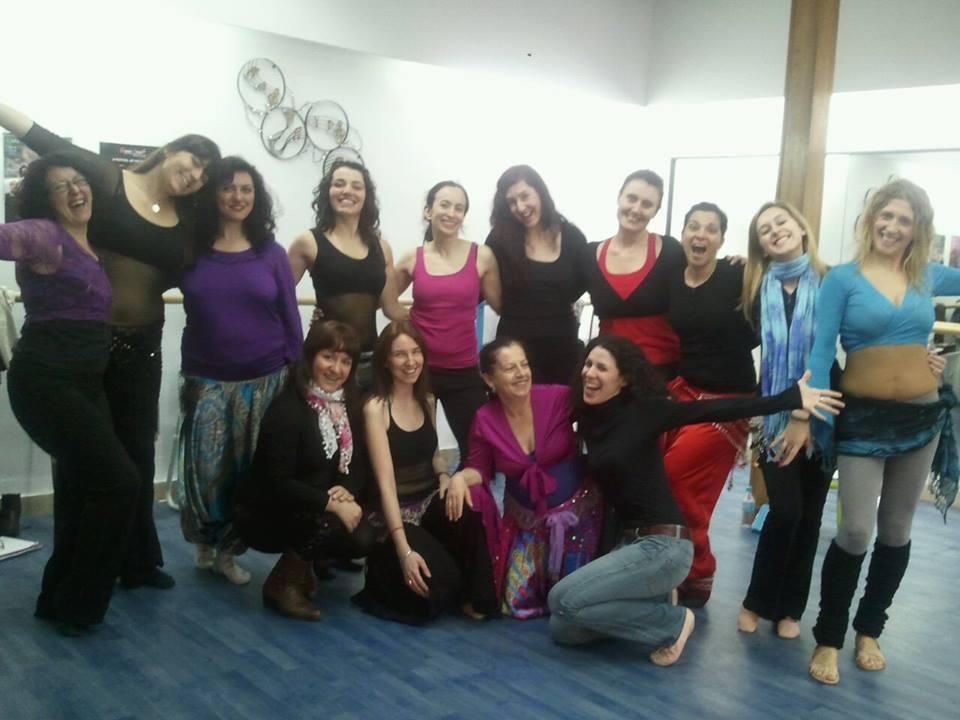 alumnas de danza