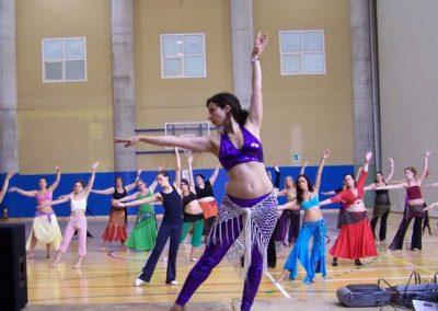Formación de profesoras danza oriental