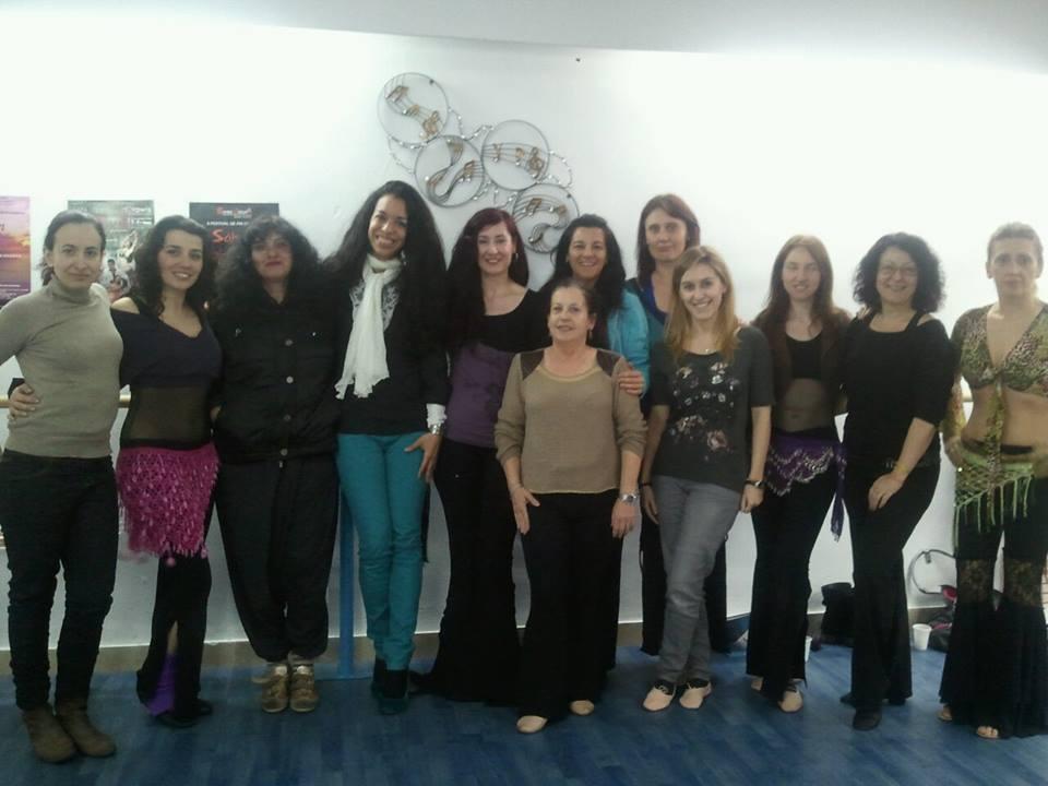 Con la maquilladora Mer Osorio y la nutricionista Almudena