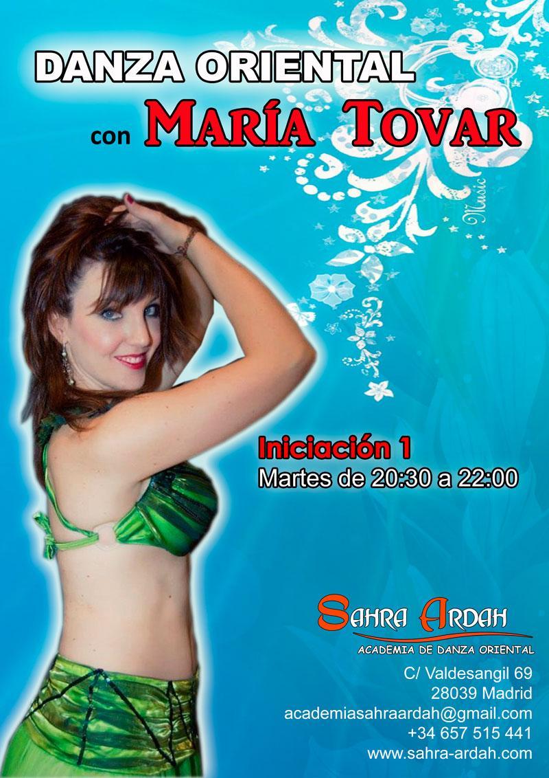 Danza Oriental | con María Tovar