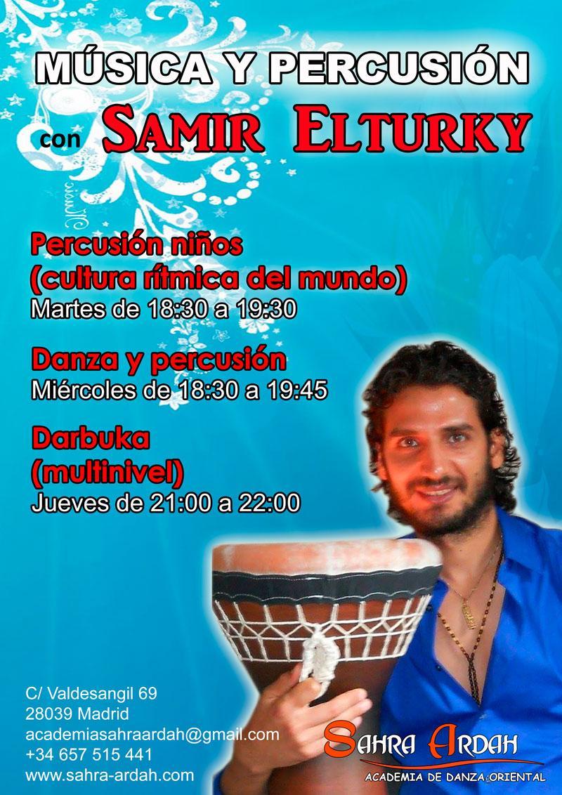 Música y Percusión | con Samir Elturky