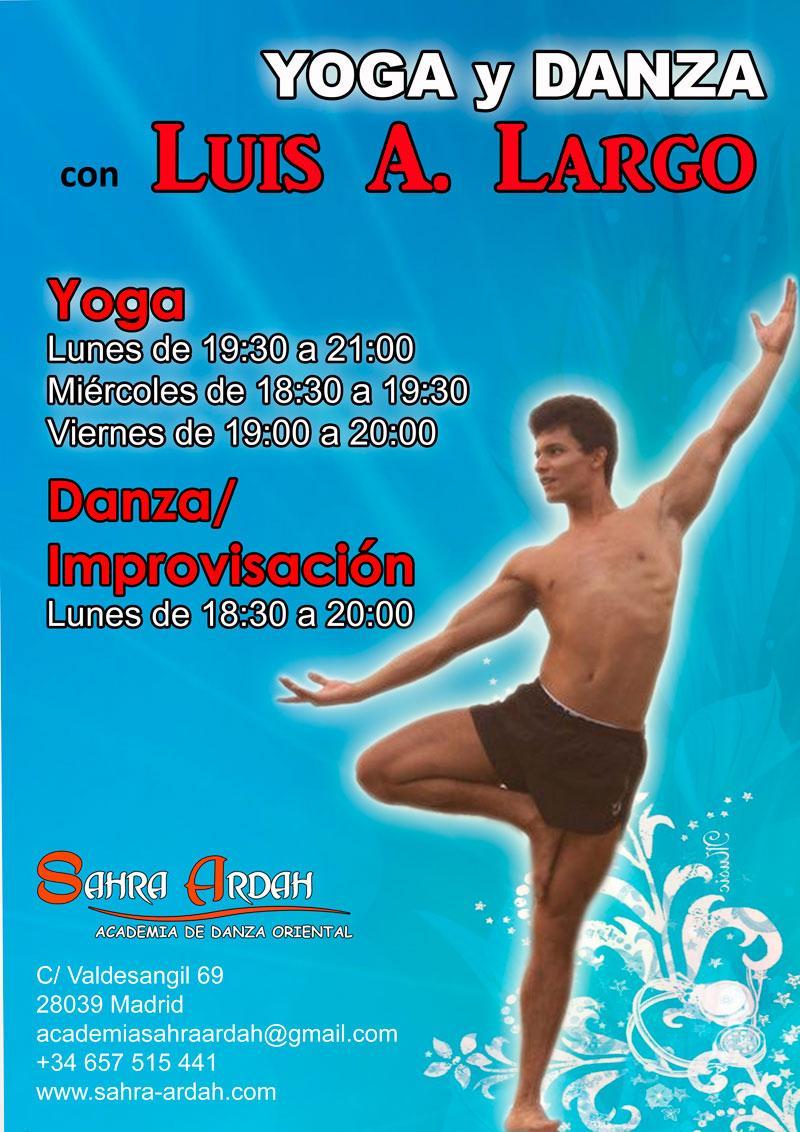 Yoga y Danza | con Luis A. Largo