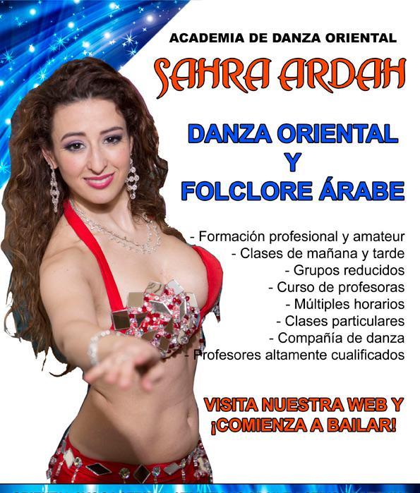 DANZA ORIENTAL PROFESORA SAHRA ARDAH