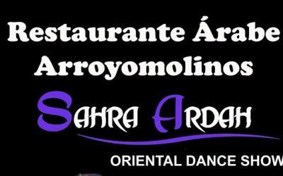 Show danza oriental Restaurante Árabe
