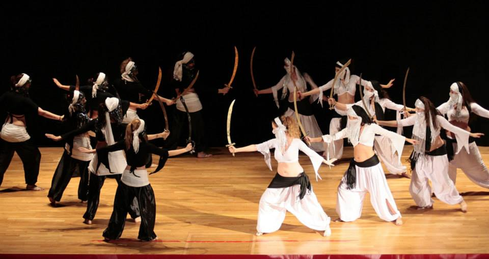 Espectáculos y eventos de danza del vientre oriental