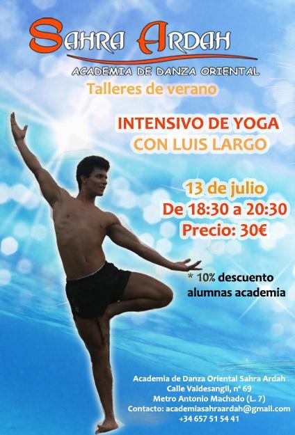 taller de verano intensivo de yoga