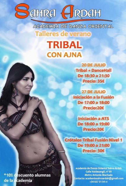 Taller de verano Tribal con Ajna