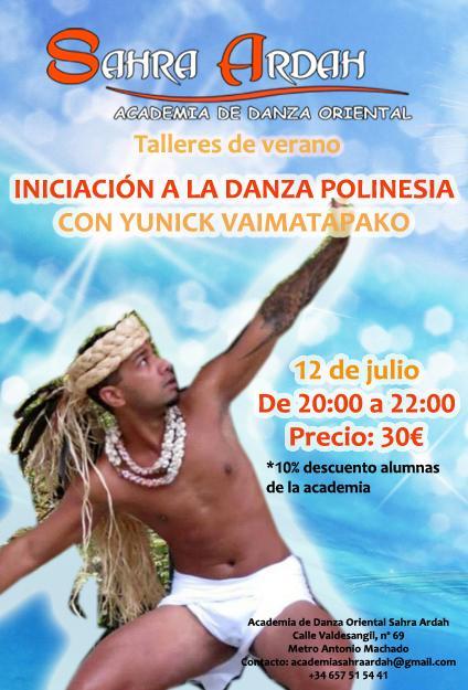 Taller de verano Danza Polinesia