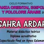 EN SALAMANCA Ciclo Formativo Danza Oriental Egipcia y Folclore Árabe 2018