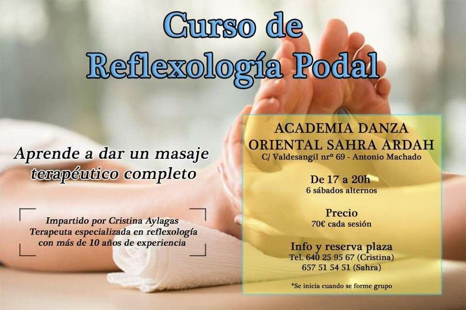 Curso de reflexología Podal