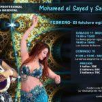 profesores Mohamed el Sayed y Sahra Ardah