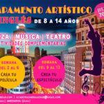 Campamento Artístico en Inglés DE 8 A 14 AÑOS