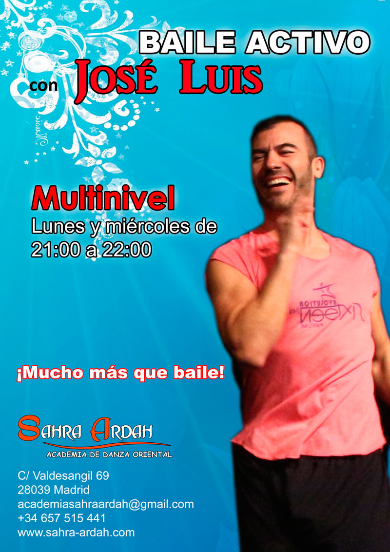 Baile Activo | con José Luis