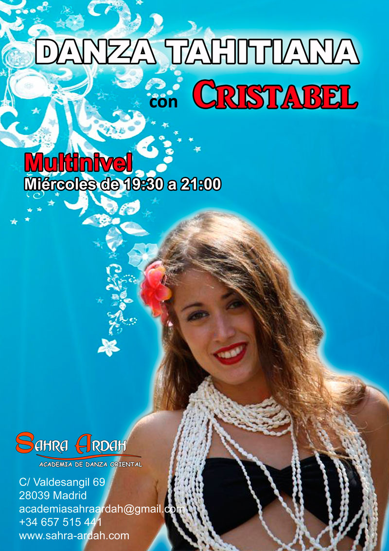 Danza Thaitiana | con Cristabel