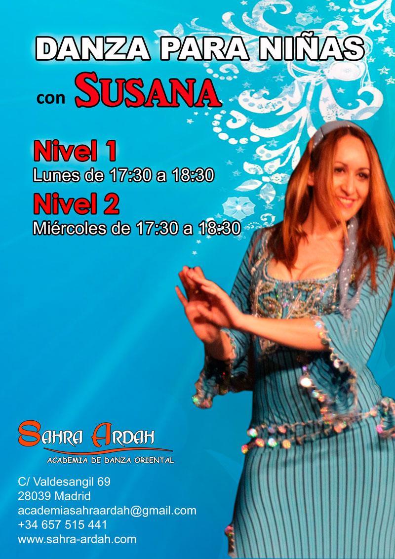 Danza para niñas | con Susana