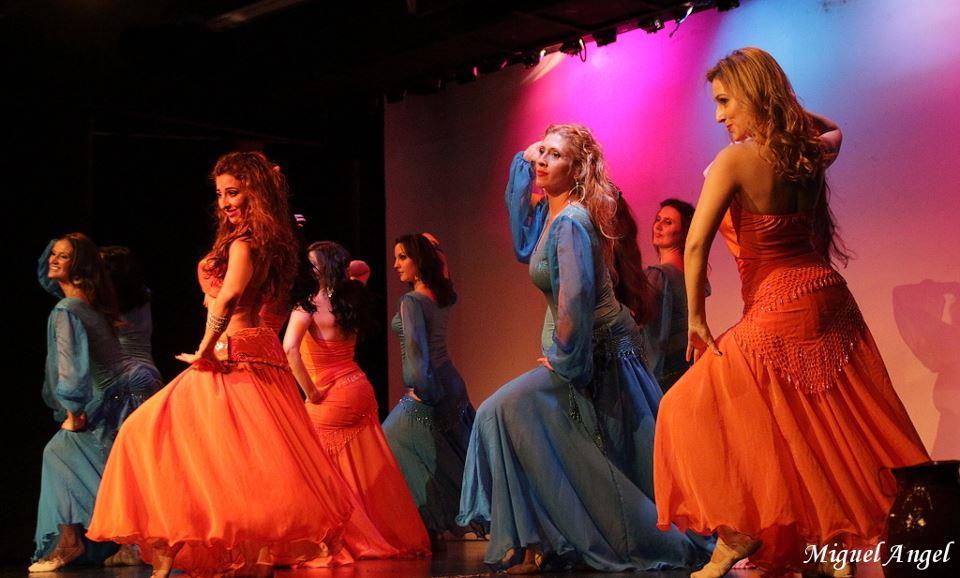 Espectáculo de danza oriental Un viaje al fondo del alma