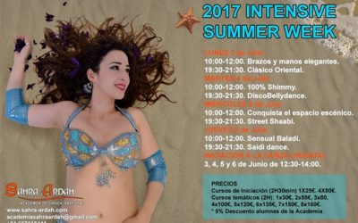 INTENSIVE SUMMER WEEK con Sahra Ardah
