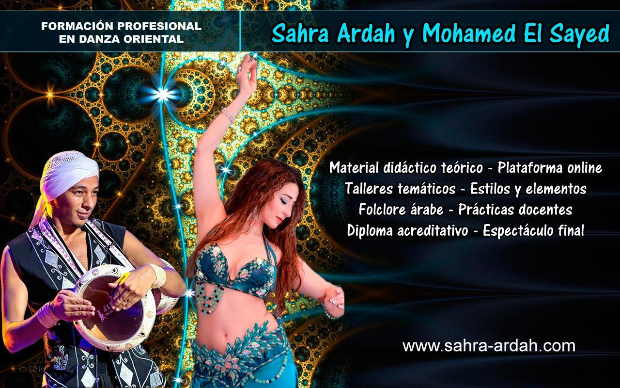 Formación Integral como Profesora danza oriental