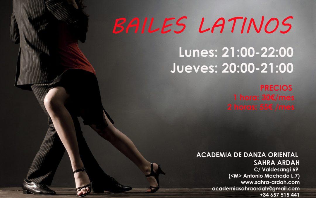 Ritmos y bailes latinos