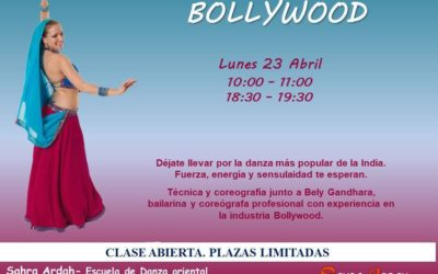 BOLLYWOOD clase abierta plazas limitadas