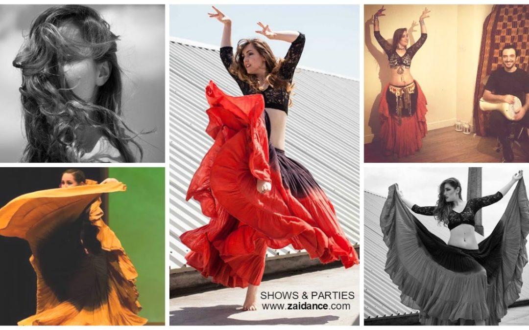 Danza Tribal con Zaida Jubera