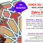 Clases de Danza Oriental NIVEL INTERMEDIO en Madrid