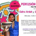 Clases de Percusión en Vivo con Sahra Ardah y Samir Elturky