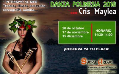1 Intensivo al mes de Danza Polinesia