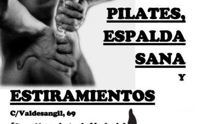 Clases de Pilates, Espalda Sana y Estiramientos