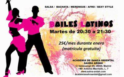 Viaja al Caribe sin salir de Madrid con nuestras clases de bailes latinos.