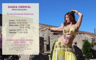 DANZA ORIENTAL -Nivel Iniciación-