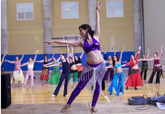 compañía de danza oriental