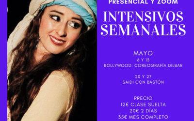 Mayo: Intensivos Bollywood, Dilbar y Saida con Bastón 💃